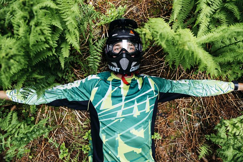 Zimtstern und Mountainbike