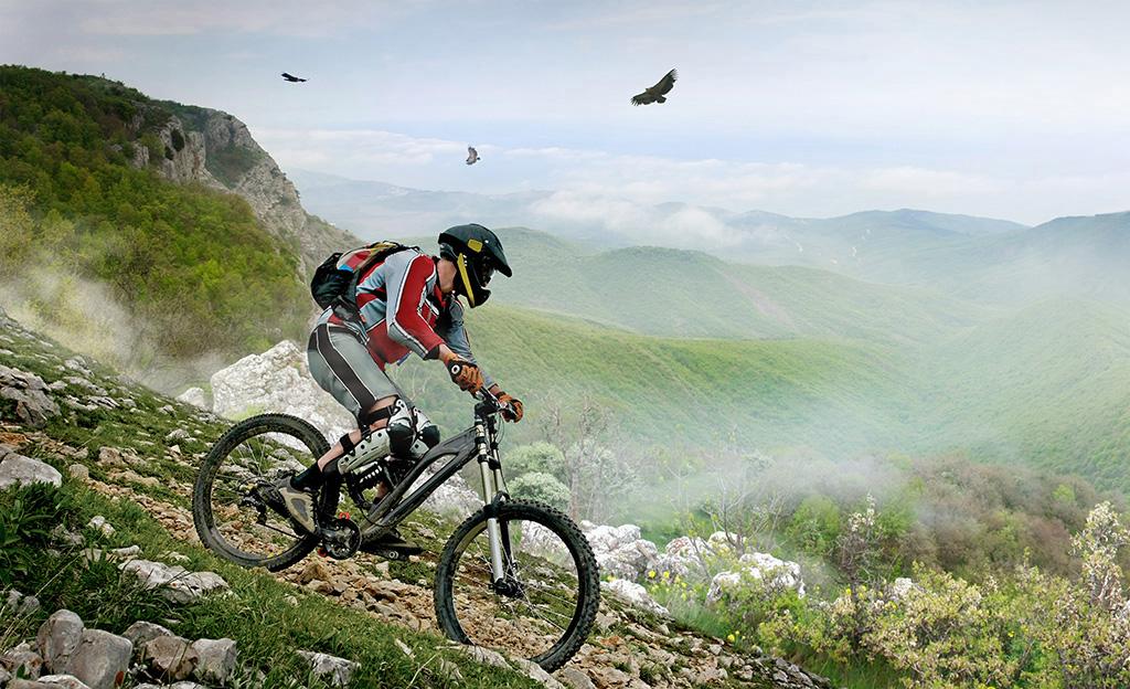 Toleranz und Mountainbike
