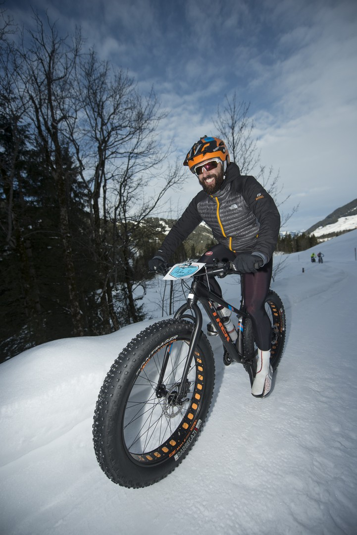 Gstaad Snow Bike Race