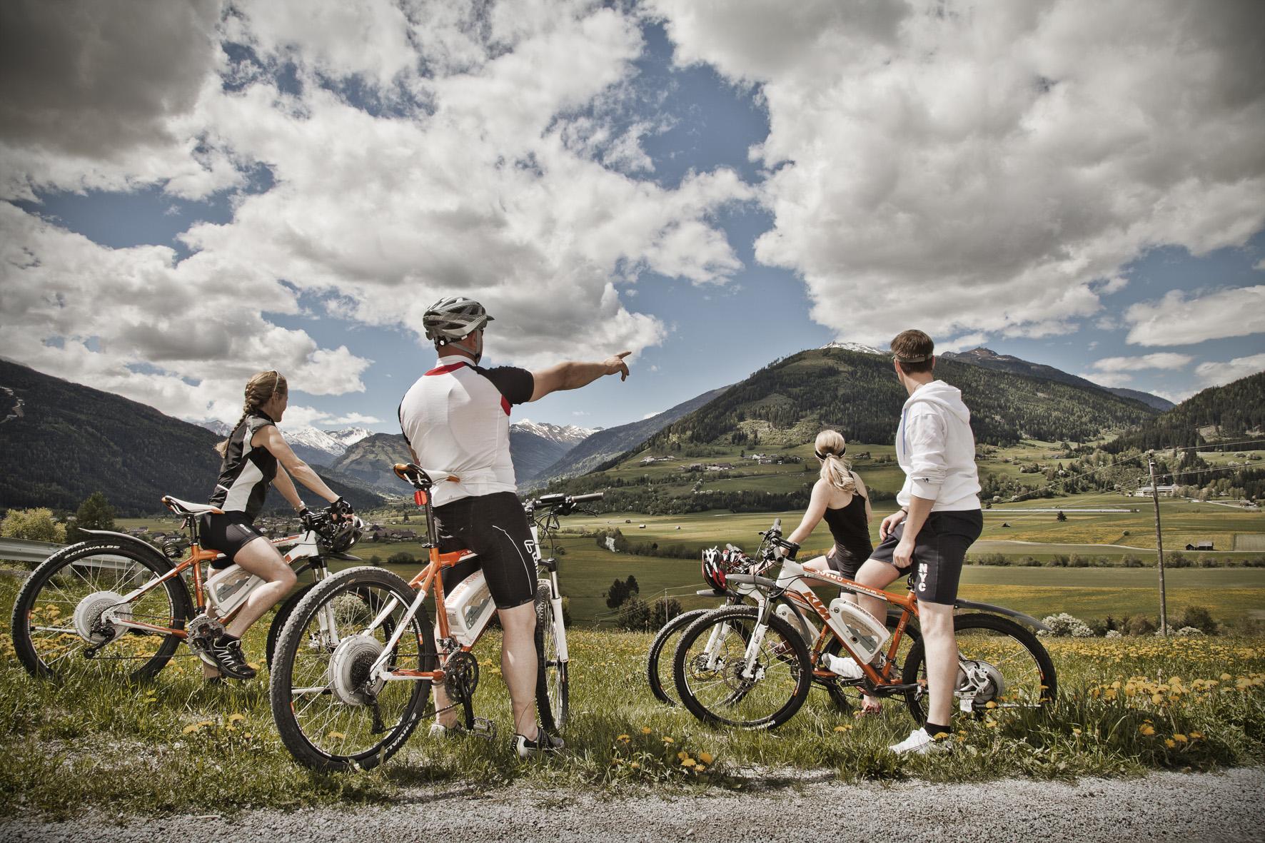 Biken in der Lungau im Salzburger Land